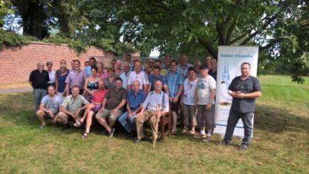 Gruppenbild der Teilnehmer an der Sommertagung in Zülpich