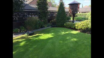 Einblick in die gepflegte Garten- und Schlaganlage