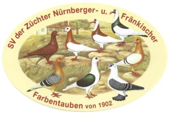 SV-Logo Nürnberger und Fränkische Farbentauben