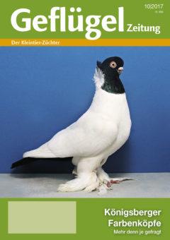 Geflügelzeitung, Ausgabe 10-2017, Titelbild