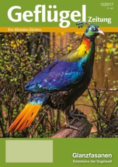 Titelblatt der 12. Ausgabe 2017 der Geflügelzeitung