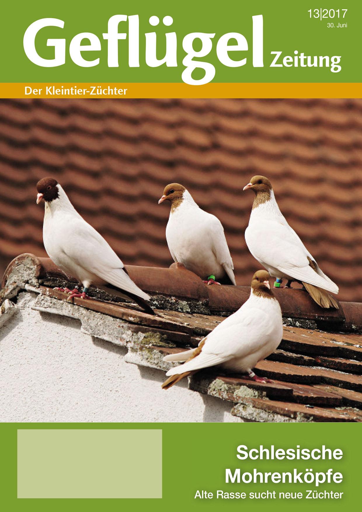 Geflügelzeitung, Ausgabe 13/2017