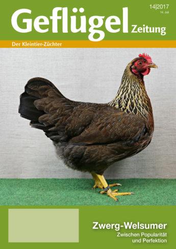 Geflügelzeitung, Titelbild der Ausgabe 14/2017
