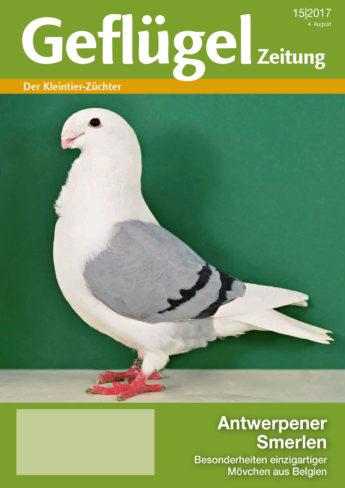 Geflügelzeitung, Ausgabe 15/2017, Titelbild