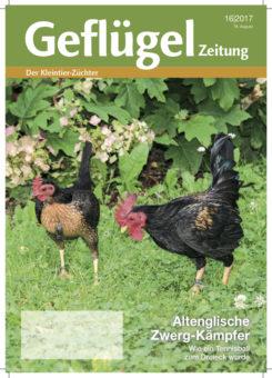 Geflügelzeitung, Ausgabe 16/2017, Ausgabenvorschau
