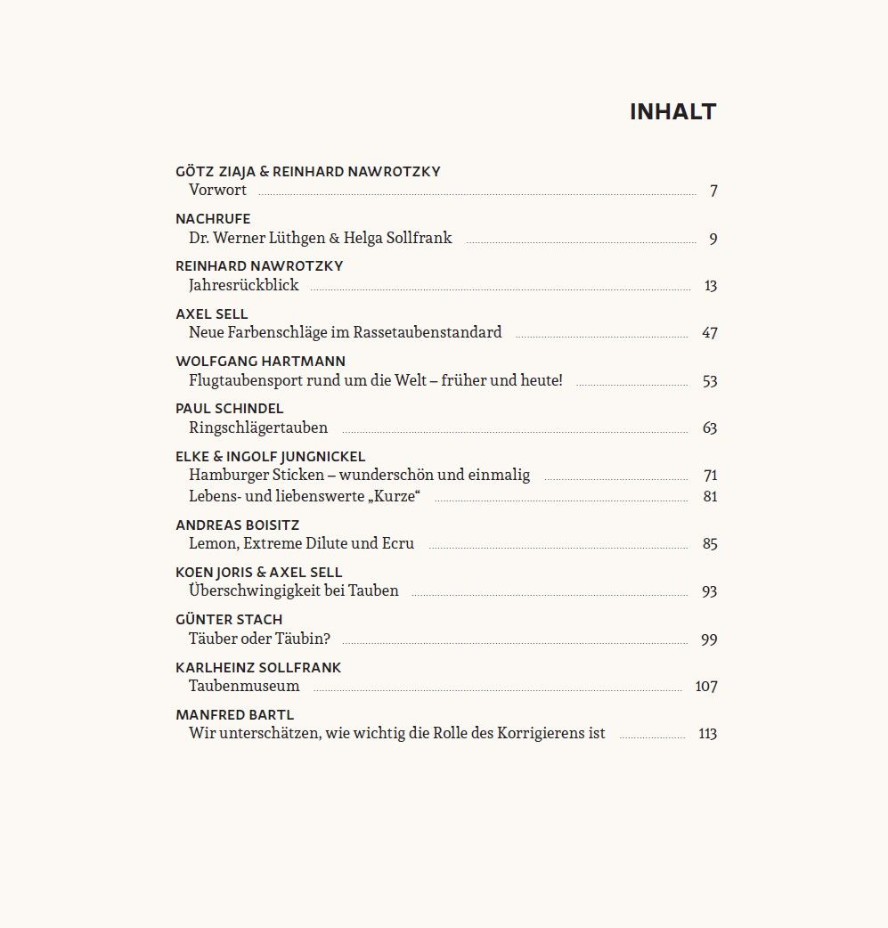 Das neue VDT Jahrbuch 2017 - Verband Deutscher Rassetaubenzüchter e.V.