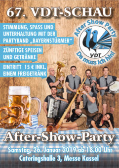 Flyer VDT After Show Party 2018